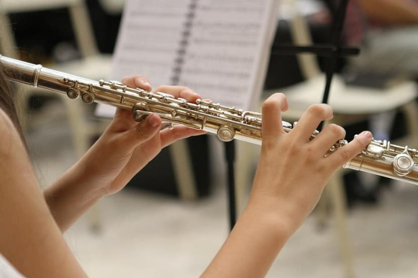 flute as a woodwind instrument