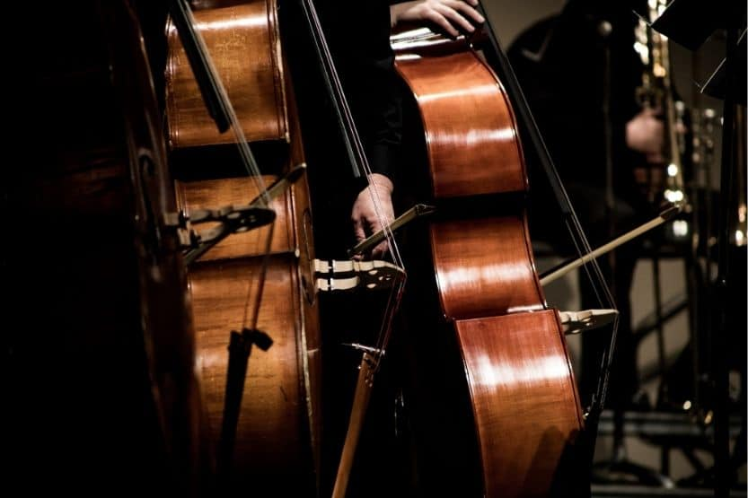 left-handed cellos
