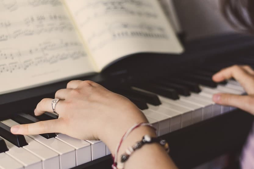 steps to learn how to play piano