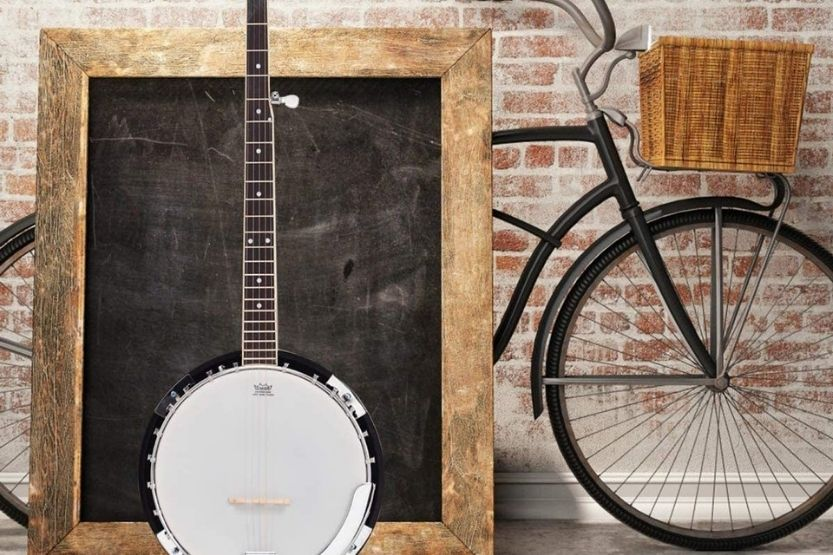 how to tune a 4 string banjo