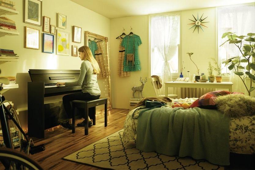 yamaha digital pianos with weighted keys