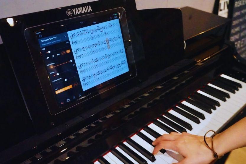 yamaha arius ydp-184 console digital piano